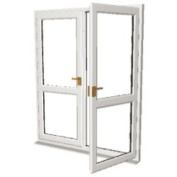 PVC Door Upgrade 1400 x 1850 - White