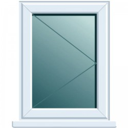 PVC Window Upgrade 700 x 1000 - White