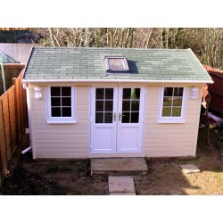 Garden Studio 3.0 m x 5.0 m, Garden Office- Summer House 3.0 m x 5.0 m Velux type window