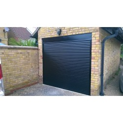 Garage doors - electric remote opening