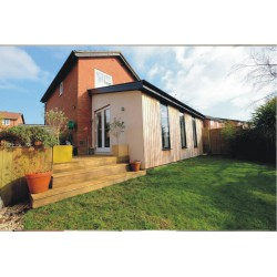 Lean to house extension 3m x 6m