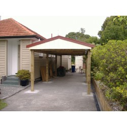 MMGS Timber Car port 3m x 6m (10' x 20')